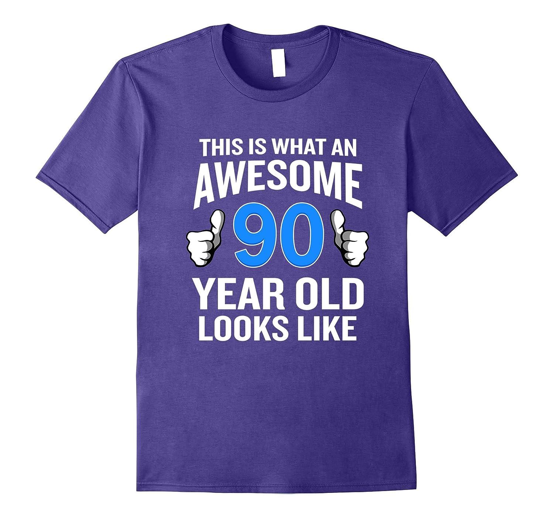 90 Year Old Birthday T Shirt Funny Senior Man Or Woman Gift ANZ