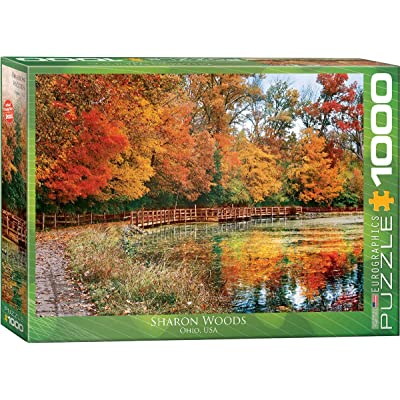 EuroGraphics Sharon Woods, Ohio Puzzle (1000-Piece): Toys & Games [5Bkhe0805324]