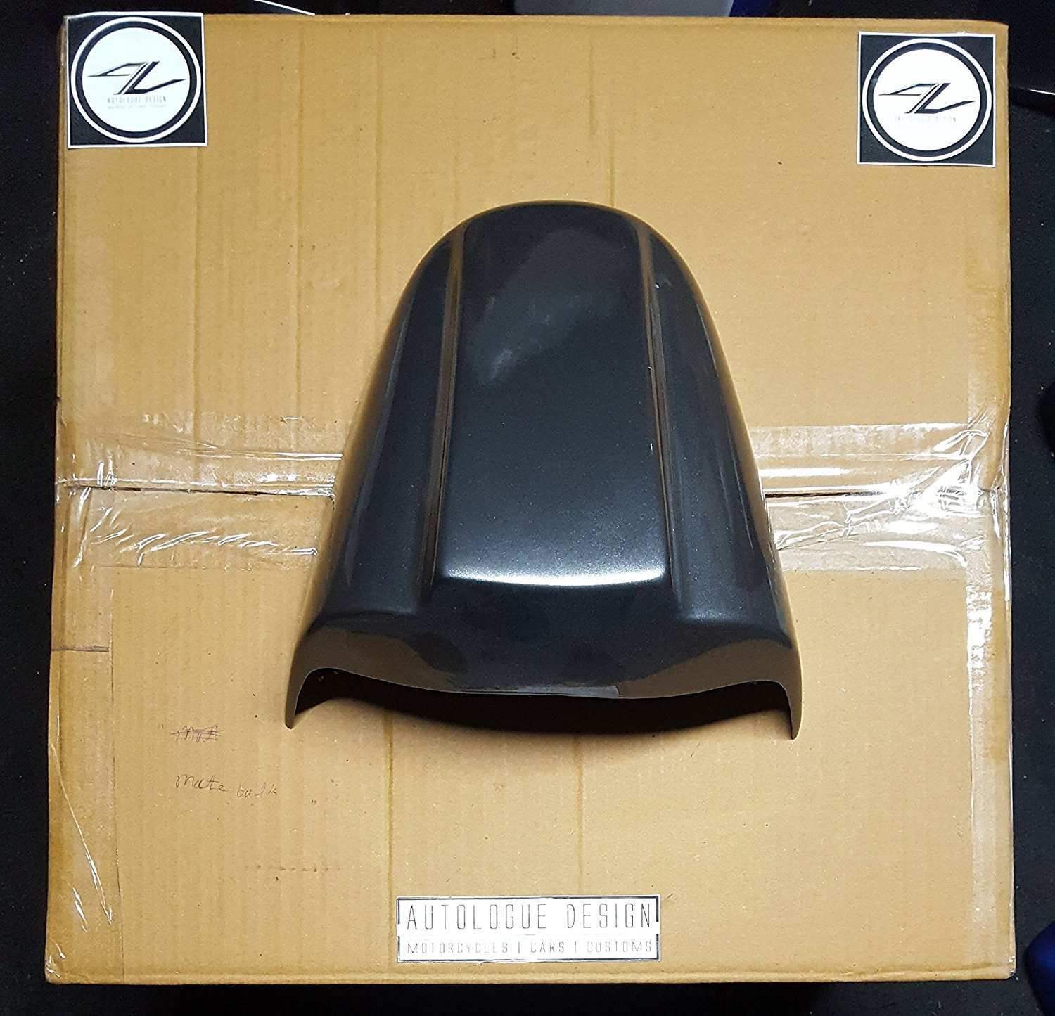 Suzuki Gixxer Sf Rear Seat Cowl Black Car Motorbike Modified