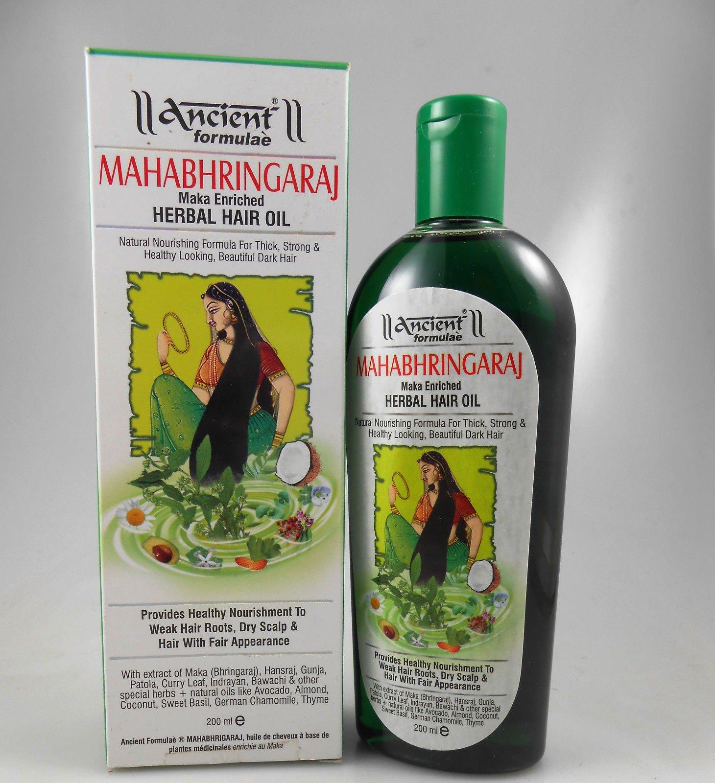 Hesh Ancient Formulae Mahabhringaraj (Maka Enriched) Herbal Har Oil 200ml