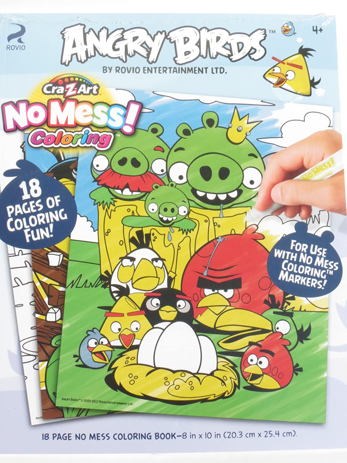 Angry Bird Coloring Book Toys Games