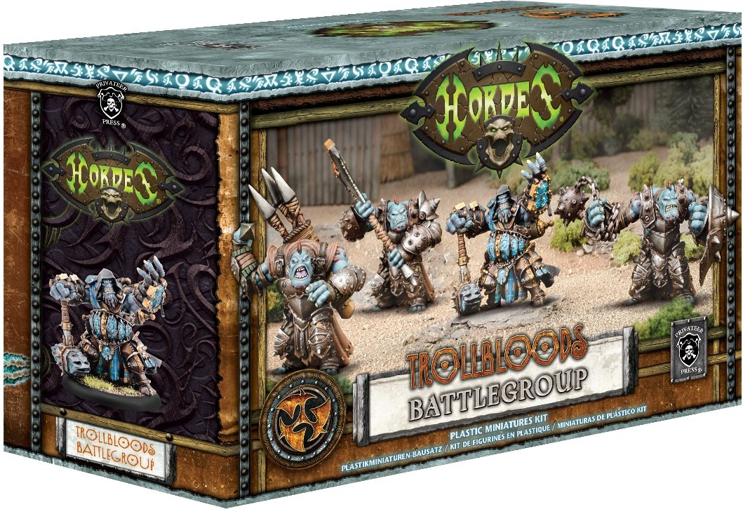 Privateer Press Hordes: Trollblood Battlegroup Starter Box MKIII