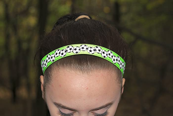Amazon.com  Soccer Headbands for Girls 9add45008d8