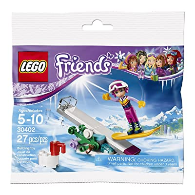 LEGO Friends Snowboard Tricks (30402) Bagged: Toys & Games