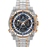 Bulova Mens Chronograph Quartz Watch with Stainless Steel Strap 98B317