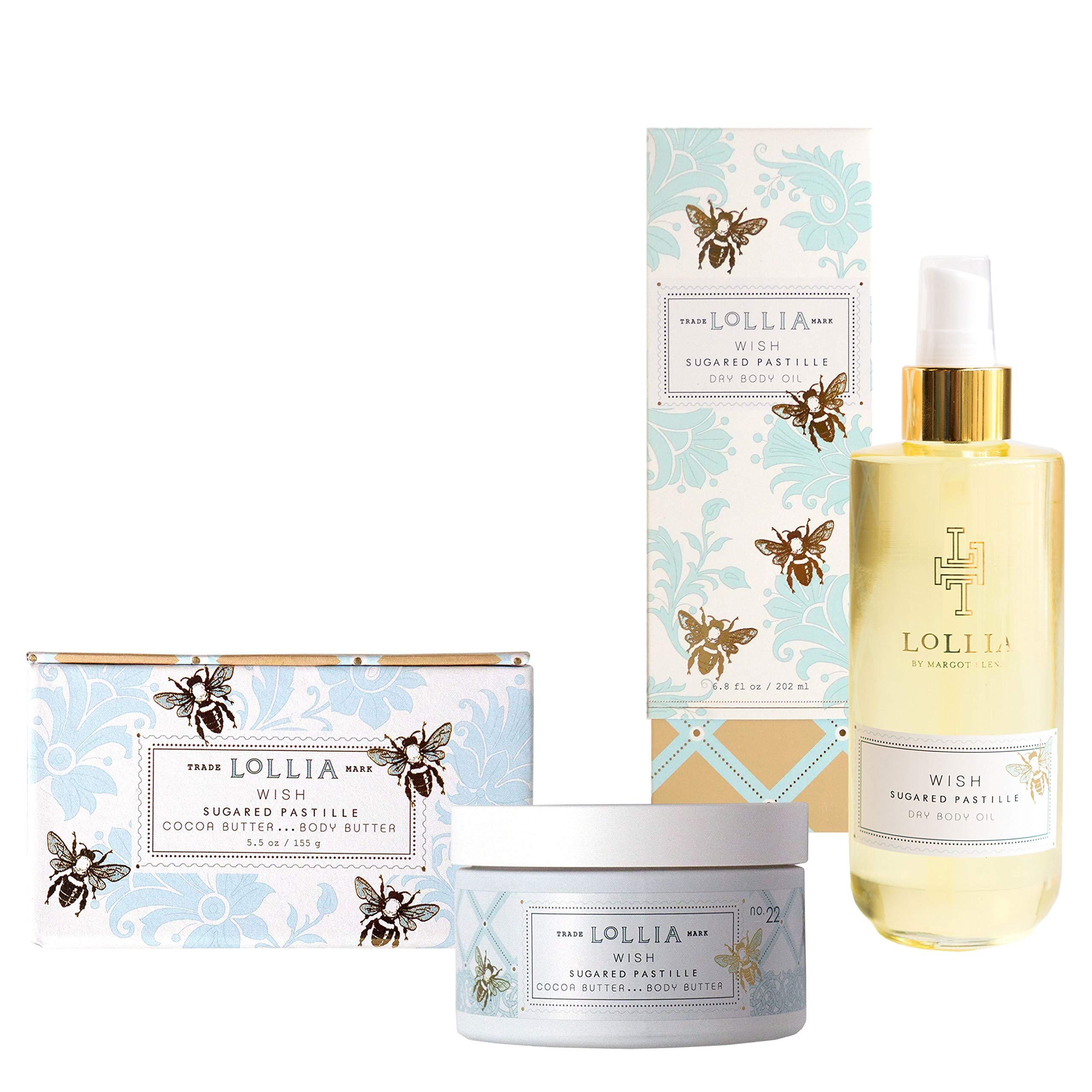 Wish Whipped Body Butter & Dry Body Oil Set