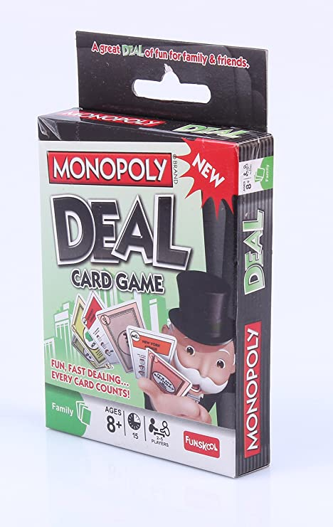 Monopoly Deal Card Game: Amazon.es: Juguetes y juegos