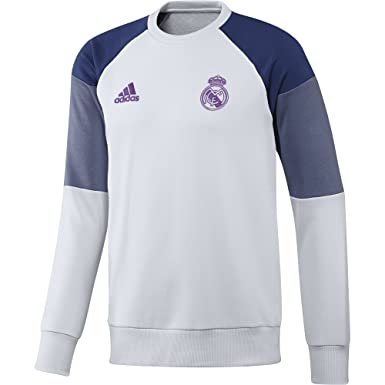 4d09792c600b adidas Mens Gents Football Soccer Real Madrid Training Sweatshirt ...