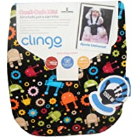Almofada Mini Memory Foam, Clingo, Robots , Pequena