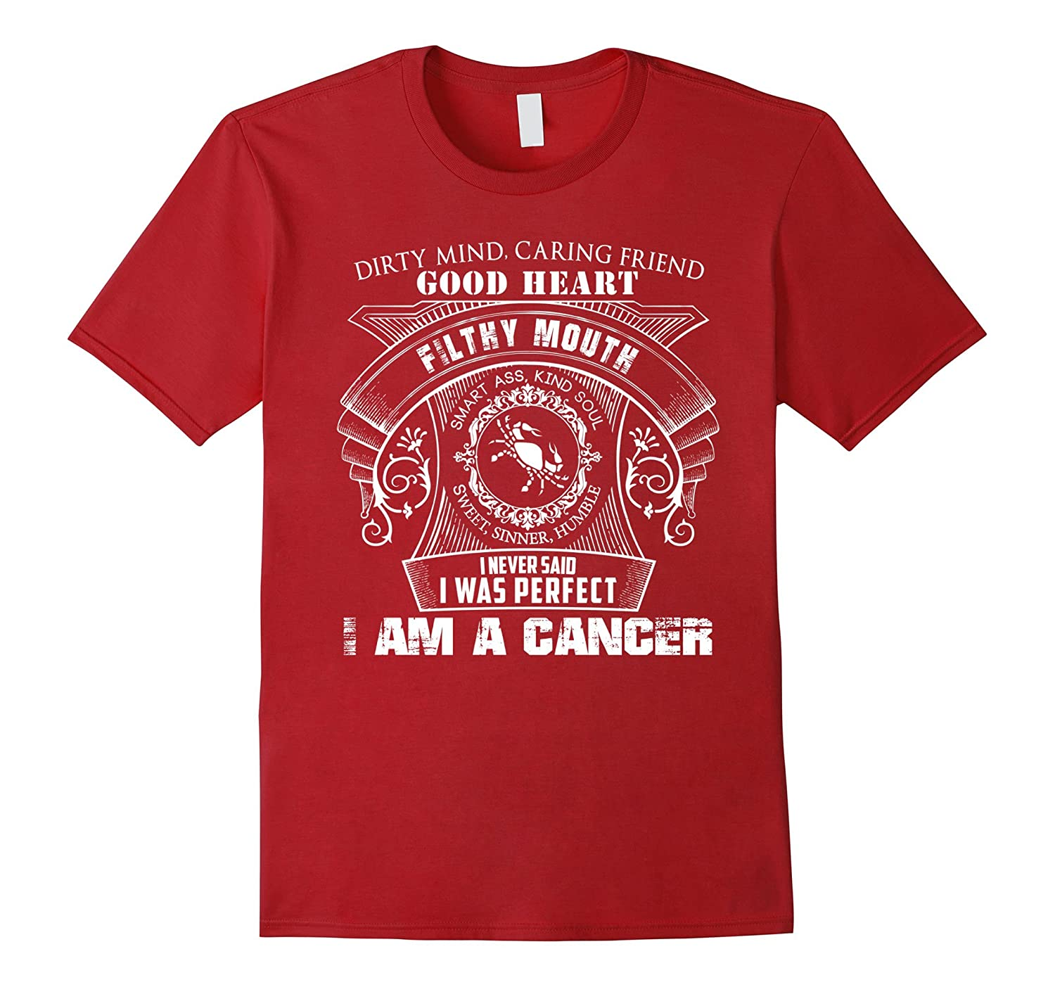 Cancer Horoscope Shirt Cancer Zodiac Sign Shirts Horoscope-BN