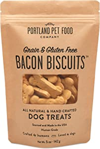 Portland Pet Food Company All-Natural Dog Treat Biscuits – Handcrafted Grain-Free, Gluten-Free, USA Sourced Baked & Made, Human-Grade, All Natural Limited Ingredients, 5 Ounces, Various Flavours