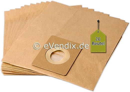 20 Bolsas de aspiradora apta para Ufesa AT 7502 | 2 capas de papel ...