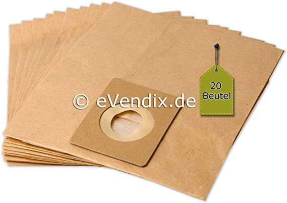 20 Bolsas de aspiradora apta para Ufesa AT 7502   2 capas de papel ...
