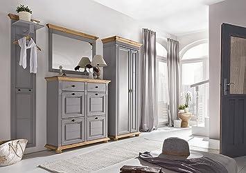 Moebel Dich Auf Bfk Collection Svea Landhaus Garderobe Garderobenset