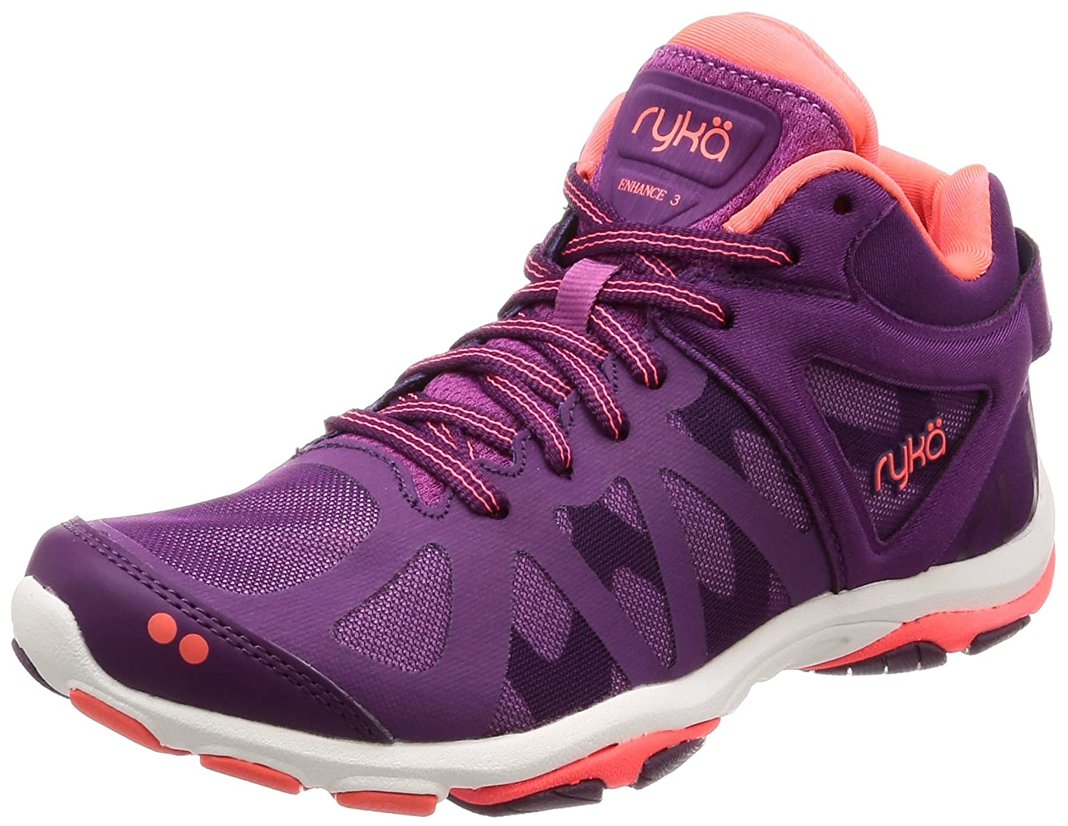 Ryka Women's Enhance 3 Cross-Trainer Shoe B0788SZ4D2 7 B(M) US|Grape Juice