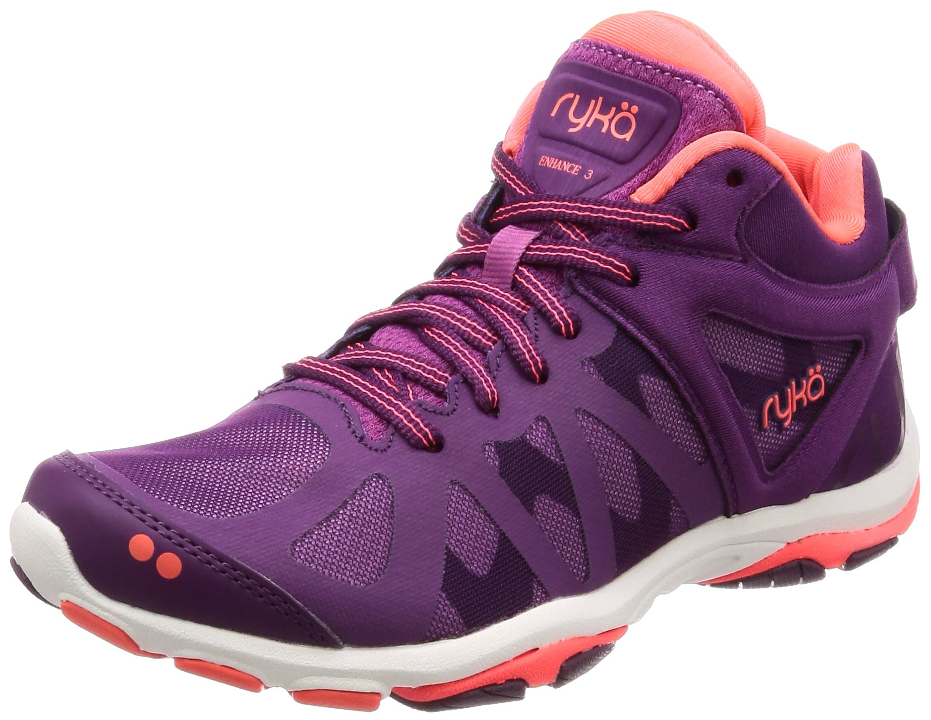 Ryka Womens Enhance 3 Training Shoe, Grape Juice, 7 B(M) US