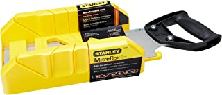 product image for STANLEY Hand Saw with Mitre Box, 12-Inch (19-800)