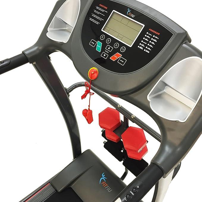 SG - Cinta de correr plegable de 1800w con pantalla led: Amazon.es ...