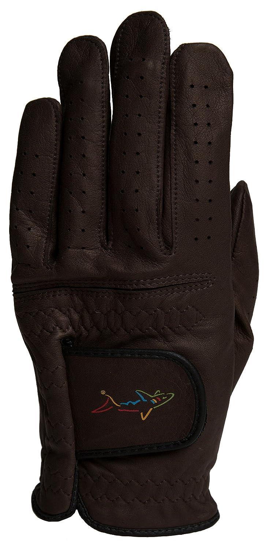 Greg NormanオスメンズクラシックLeft Hand Medium / Largeゴルフグローブメンズクラシックゴルフグローブ、ブラウン   B01IAF2HHK