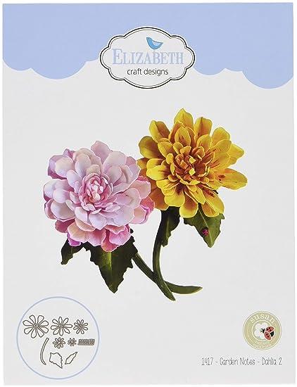 Amazon Com Elizabeth Craft Designs Dahlia 2 Elizabeth Craft Metal