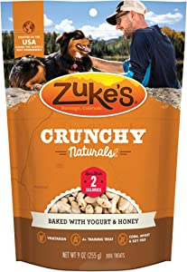 Zuke's Crunchy Naturals Low Calorie Natural Baked Low Calorie Dog Treats