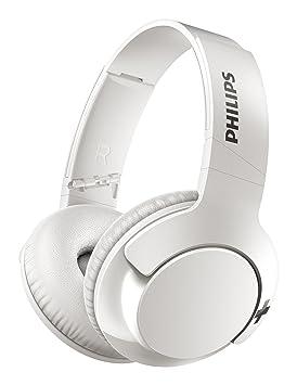Philips Bass+ SHB3175WT - Auriculares inalambricos (Bluetooth con micrófono, aislantes de Ruido, Plegables, 13h de reproducción), Color Blanco: Amazon.es: ...