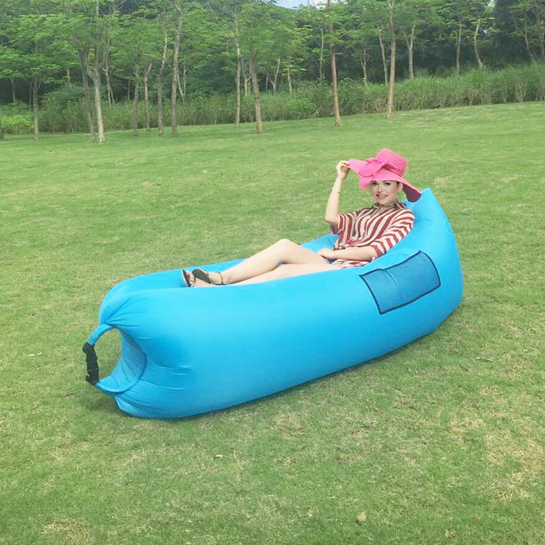 OUTAD Tumbona Hinchable para Playa Piscina Jard/ín