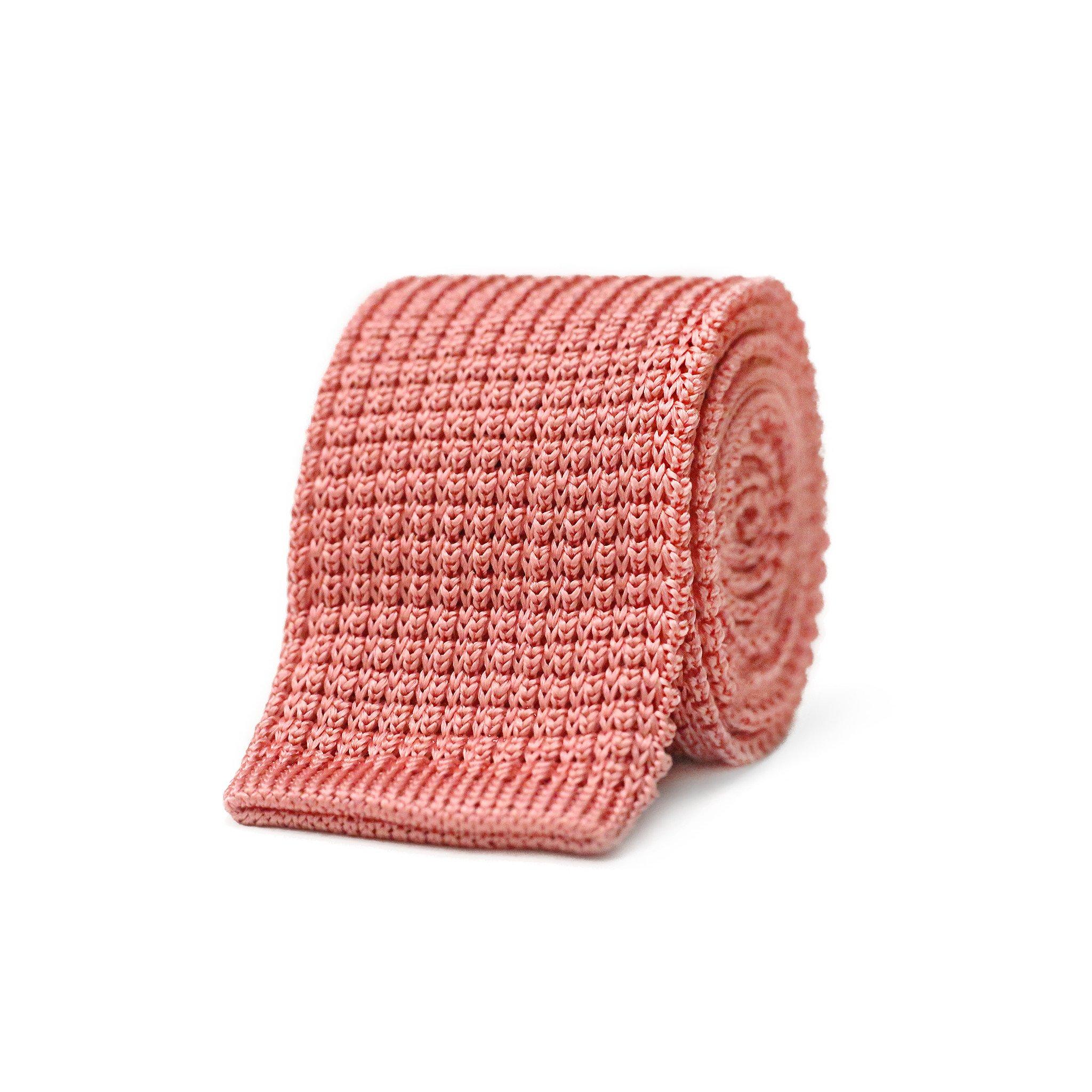 Dedra Knit Tie - Pink