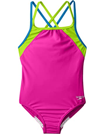 4c90db53b8f Amazon.com  Girls - Swimwear  Sports   Outdoors  One-Piece Suits ...