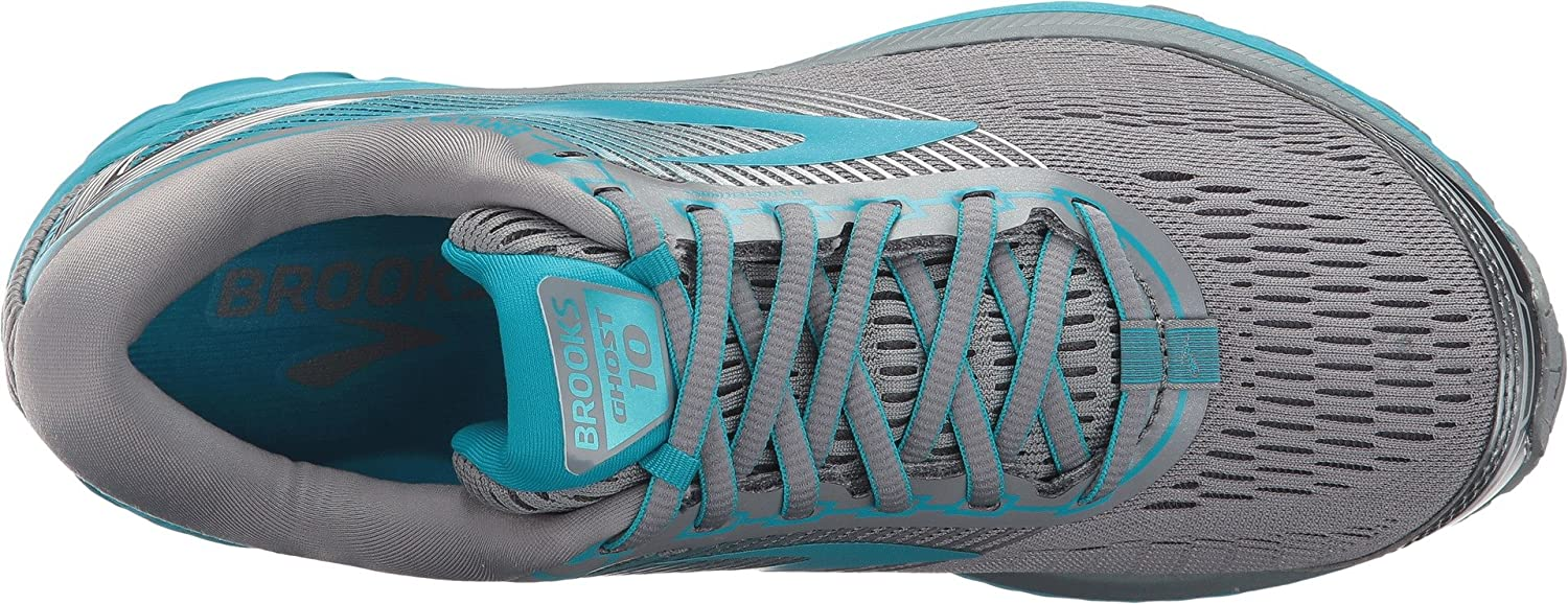Brooks Womens Ghost 10 Grey/Teal B01N8XASP9 6 D US|Primer Grey/Teal 10 Victory/Silver 6dbb20