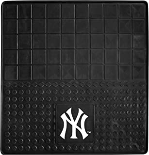 "product image for FANMATS 10867 MLB New York Yankees Vinyl Cargo Mat,Black,31""x31"""