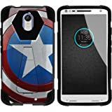 MINITURTLE Case Compatible w/ Motorola Droid Turbo 2 Slim Case, Moto X Force Stand