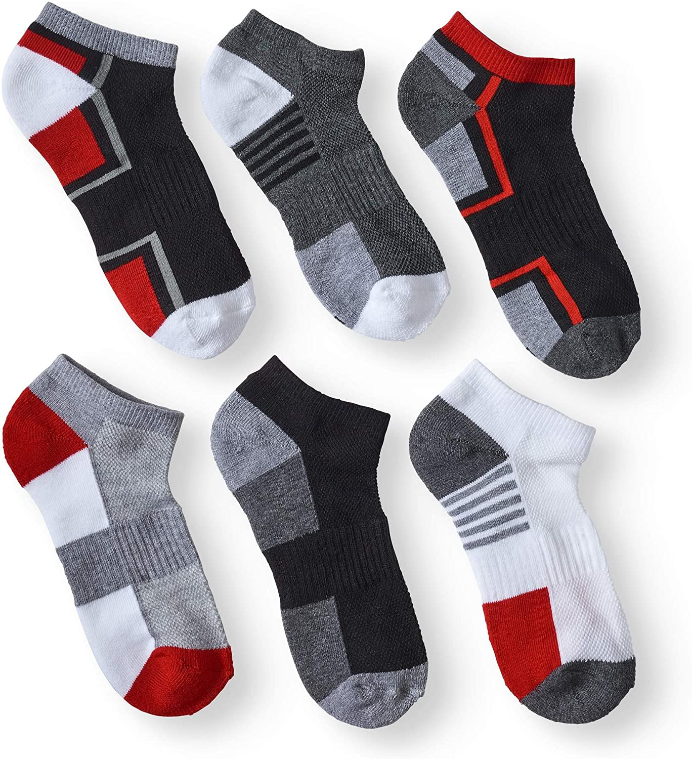 NEW Athletic Works Girls Liner Socks 6 Pair