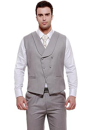 Mens Wedding Attire.Cmdc Men S Wedding Dresses 3 Piece Suit Blazer Jacket Tux Vest Trousers U7