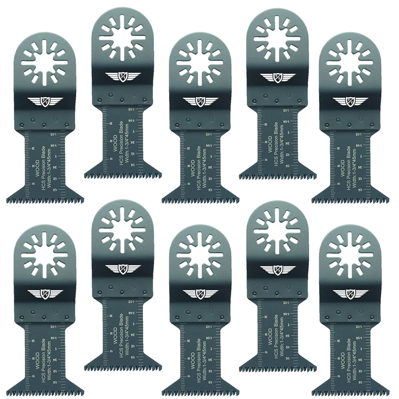 Cuchillas De Plástico De Madera 10x 35mm Fein Multimaster Bosch Makita Multiherramienta oscilante