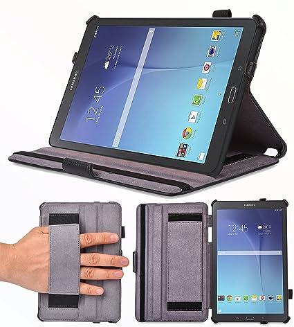 uk availability 2571a f82a3 Supremery Ultra Slim Case Samsung Galaxy Tab E 9.6 Case [BLACK ...