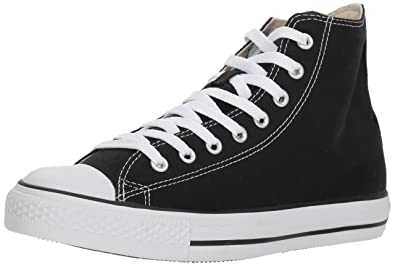 Converse Unisex Chuck Taylor All Star Hi Top Sneaker 12 B M US Women / 10 D M US Men Black B01LWZD41J