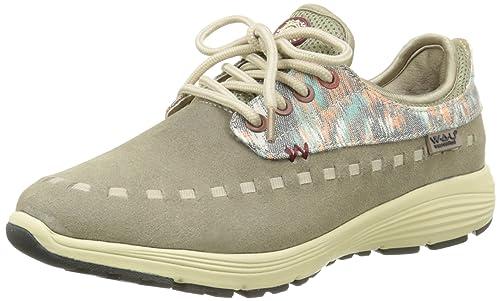WAU Apache - Zapatillas Mujer, color Gris (Sand), talla 36: Amazon.es: Zapatos y complementos
