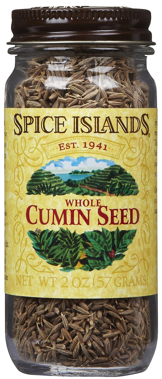 Spice Island Whole Cumin Seed, 2 oz