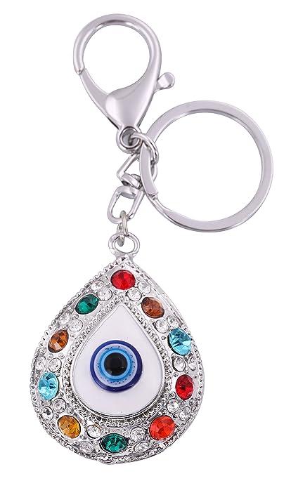 VASSAGO - Exquisito llavero de amuleto para mal de ojo turco ...