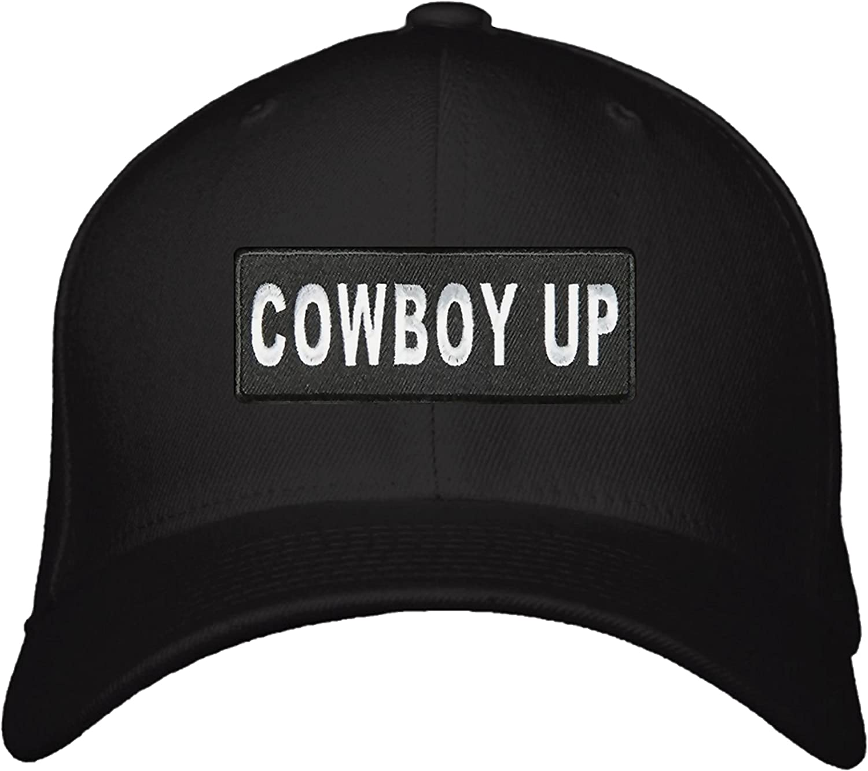 Cowboy Up Hat Color Style Options