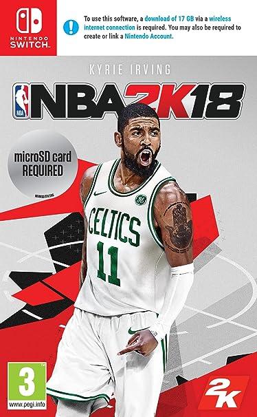 NBA 2K18 - Nintendo Switch [Importación inglesa]: Amazon.es: Videojuegos