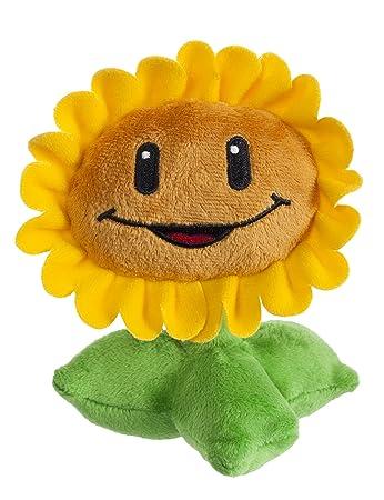 Amazon plants vs zombies 7 plush sunflower plants vs zombies 7quot plush sunflower voltagebd Gallery