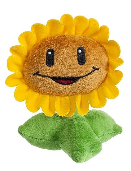 amazon com plants vs zombies sunflower plush toys games