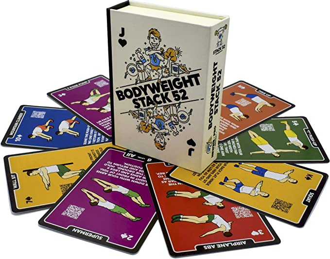 Stack 52 Bodyweight Exercise Cards
