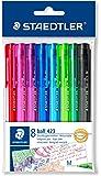 Staedtler Click Ball Pen Set - Pack of 8