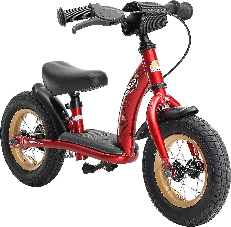 BIKESTAR Bicicleta sin Pedales para niños y niñas | Bici 10 Pulgadas a Partir de 2-3 años con Freno | 10