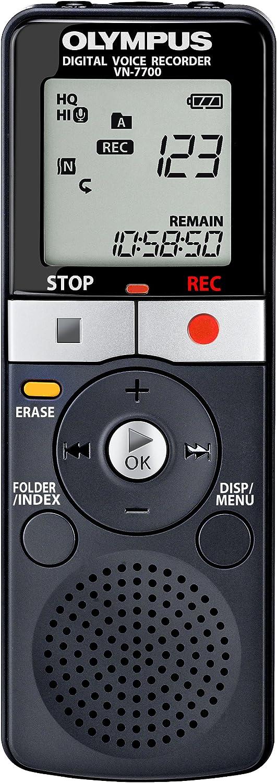 Olympus Vn 7700 Diktiergerät 2 Gb Speicher 1151 Std Aufnahme Vcva Inkl Batterie Und Tasche Bürobedarf Schreibwaren