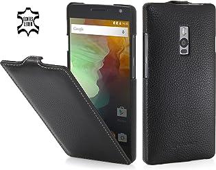 StilGut UltraSlim Case, Custodia in Vera Pelle per OnePlus 2