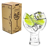 Ginsanity Personalised/Engraved 19oz/540ml Alternato Gin & Tonic Balloon Copa Glass Cocktail